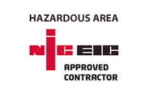 NIC EIC Hazardous Area Approved Contractor
